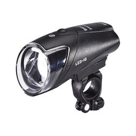 Busch + Müller IXON IQ Premium Fietsverlichting incl. stekker en accu's zwart
